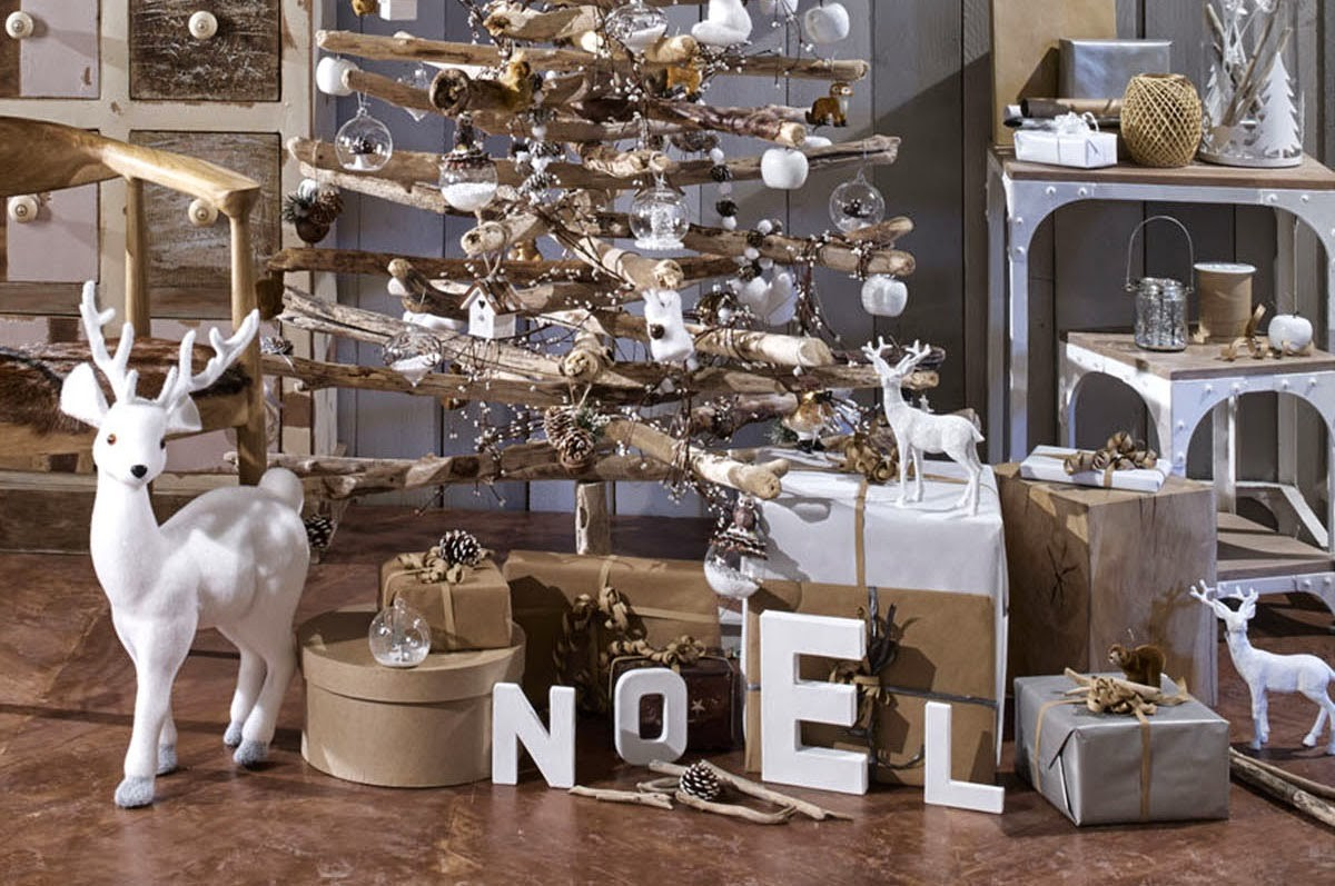 Decoration de noel bleu glacier for Sia decoration noel
