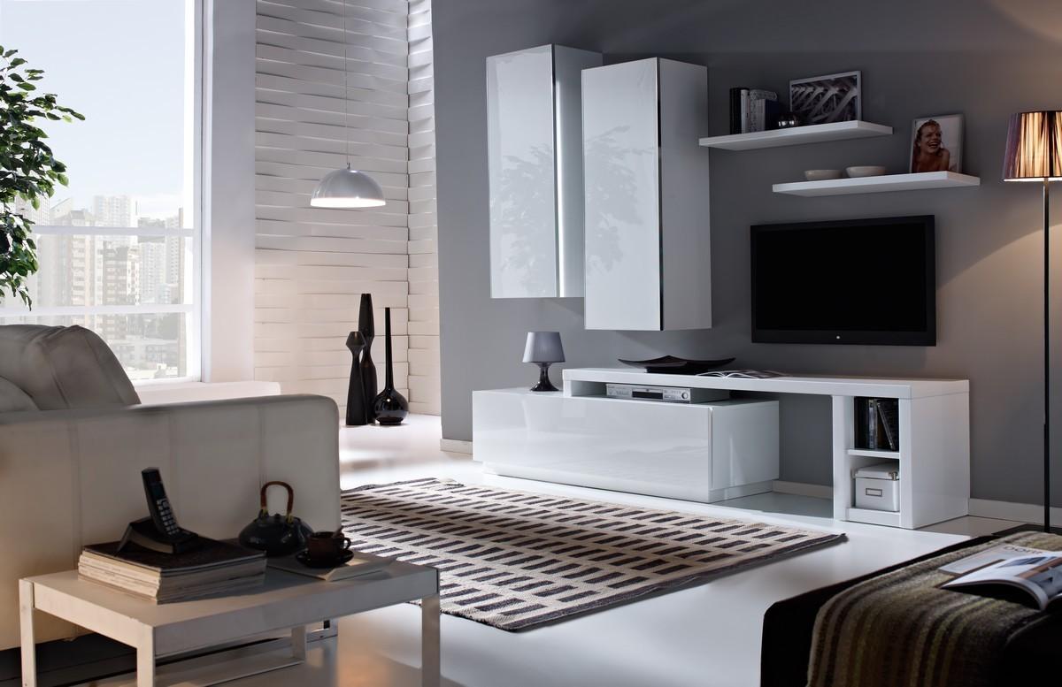 Meubles Muraux Une Touche De Modernit Pour Votre Int Rieur  # Meuble Tv Avec Etagere Murale