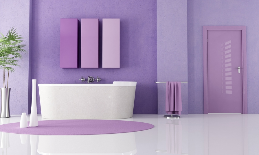 Quelle couleur choisir pour la salle de bains ma deco for Salle de bain couleur kaki
