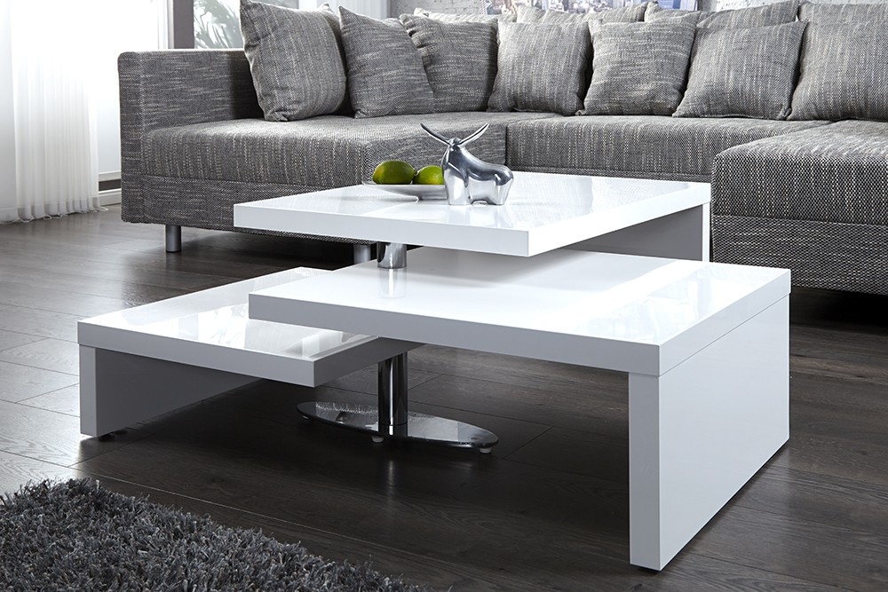 La table basse un atout pour son salon ma deco maisons - Salon sans table basse ...