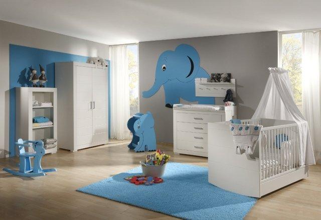 Best Chambre Gris Et Bleu Bebe Contemporary - Home Decorating ...