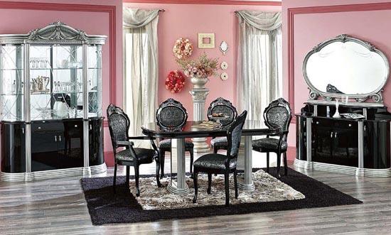 style baroque et si vous vous y mettiez aussi ma deco maisons. Black Bedroom Furniture Sets. Home Design Ideas